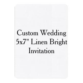 Invitaciones nupciales de la ducha del boda de invitación 12,7 x 17,8 cm