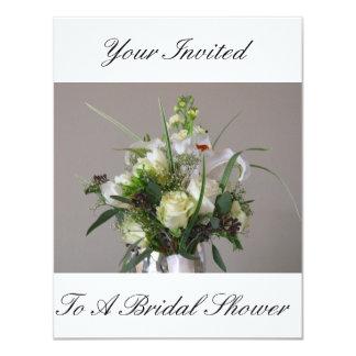 Invitaciones nupciales de la ducha invitación 10,8 x 13,9 cm