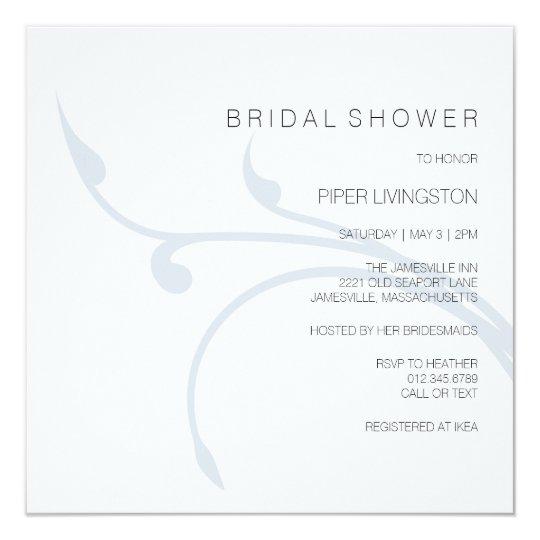 Invitaciones nupciales minimalistas y modernas de invitación 13,3 cm x 13,3cm