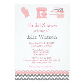 Invitaciones nupciales temáticas de la ducha de la invitación 12,7 x 17,8 cm