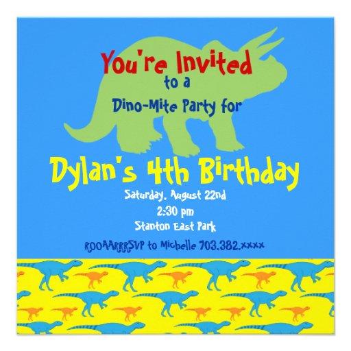Invitaciones personalizadas de la fiesta de cumple invitaciones personales