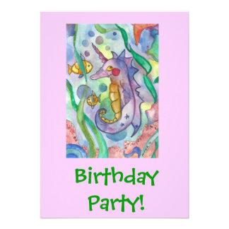 Invitaciones personalizadas de la fiesta de cumple invitacion personal
