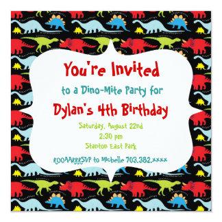 Invitaciones personalizadas de la fiesta de invitación 13,3 cm x 13,3cm