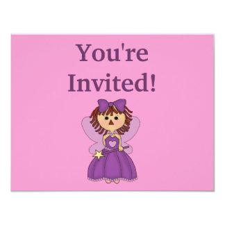 Invitaciones personalizadas de princesa Birthday Invitación 10,8 X 13,9 Cm