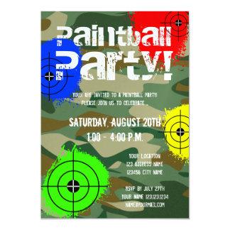 Invitaciones personalizadas del fiesta de invitación 12,7 x 17,8 cm