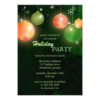 Invitaciones planas de la celebración de días fest
