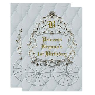 Invitaciones reales del fiesta del carro de la invitación 12,7 x 17,8 cm