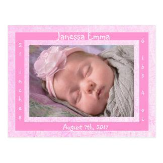 Invitaciones recién nacidas del nacimiento de la