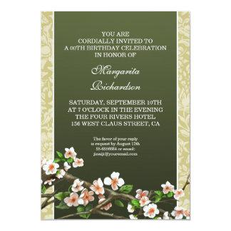 invitaciones retras de la fiesta de cumpleaños invitación 12,7 x 17,8 cm