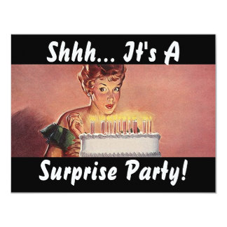 Invitaciones retras de la torta de cumpleaños del invitaciones personales