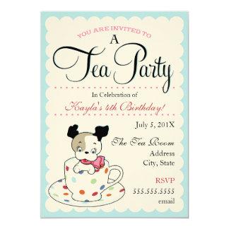 Invitaciones retras del cumpleaños de la fiesta invitación 12,7 x 17,8 cm