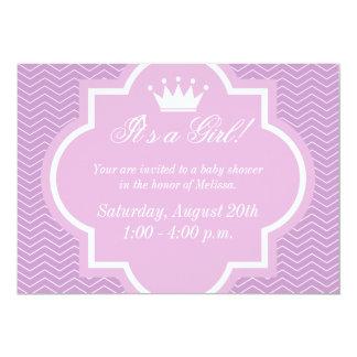 Invitaciones rosadas de la fiesta de bienvenida al invitación 12,7 x 17,8 cm