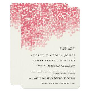 Invitaciones rústicas del boda de la ducha el | de invitación 12,7 x 17,8 cm