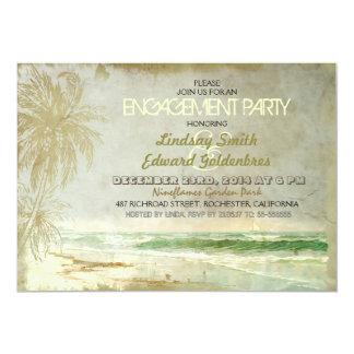 invitaciones rústicas del fiesta de compromiso de invitacion personal