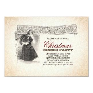 invitaciones únicas de la fiesta de Navidad de Invitación 12,7 X 17,8 Cm