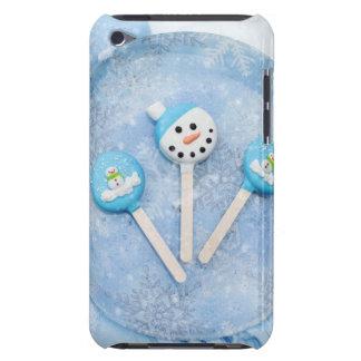 Invitaciones y chucherías de invierno funda para iPod