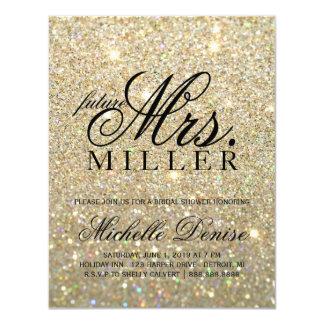 Invite - a señora futura fabulosa Bridal Shower 3 Invitación 10,8 X 13,9 Cm