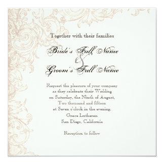 Invite, ajuste - a las alas de la colección del invitación 13,3 cm x 13,3cm