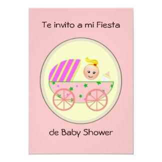 Invito de Te a la fiesta de bienvenida al bebé del Invitación 12,7 X 17,8 Cm