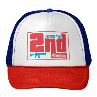 Invoque el 2do, gorra del camionero
