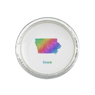 Iowa Anillo Con Foto