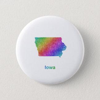 Iowa Chapa Redonda De 5 Cm