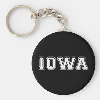 Iowa Llavero