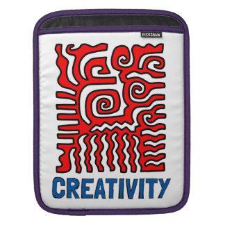 "iPad de la ""creatividad"", iPad mini, manga de aire Funda Para iPad"