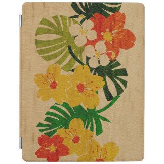 iPad de madera hawaiano SmartCover del jardín de Cover De iPad