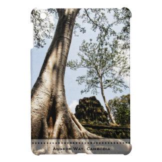 iPad del viaje de Angkor Wat Camboya del árbol del iPad Mini Carcasa
