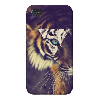iPhone4 Hipster tigre Case iPhone 4 Coberturas