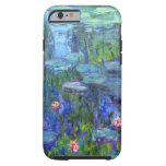iPhone 1915 de los lirios de agua de Monet 6 Funda De iPhone 6 Tough