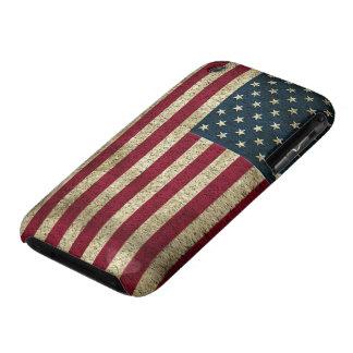 iPhone 3 de la bandera de los E.E.U.U. iPhone 3 Case-Mate Fundas