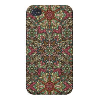 iPhone 4/4S Carcasas Diseño floral del modelo del extracto de la