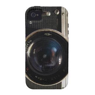 iPhone 4/4S de la caja de la cámara del vintage Vibe iPhone 4 Fundas