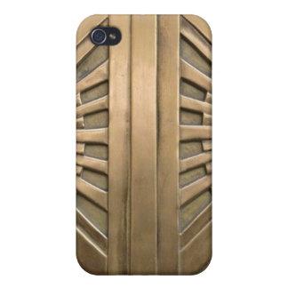 iPhone 4/4S Funda oro, nouveau del arte, art déco, vintage, moda,