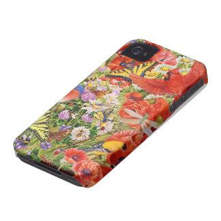 iPhone 4 Barely There de los pájaros y de las Carcasa Para iPhone 4 De Case-Mate