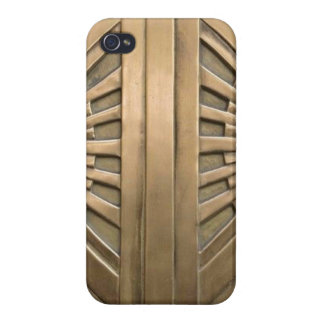 iPhone 4 Carcasa oro, nouveau del arte, art déco, vintage, moda,