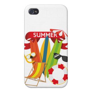 iPhone 4 Carcasa Playa Watersports del verano