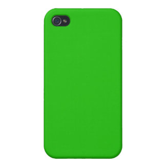 iPhone 4 Carcasas color verde claro simple