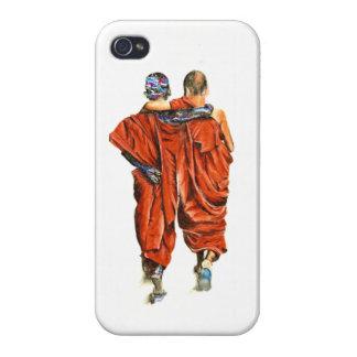 iPhone 4 Carcasas Monjes budistas
