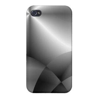 iPhone 4 Funda Caso metálico de Saavy del iPhone 4 del cromo