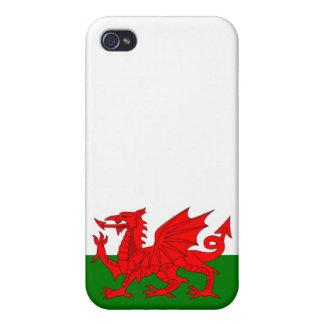 iPhone 4 Fundas Bandera de País de Gales
