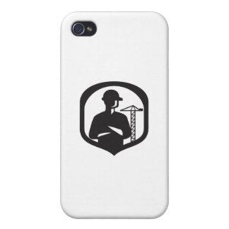 iPhone 4 Protector Escudo doblado brazos de la grúa del auge del