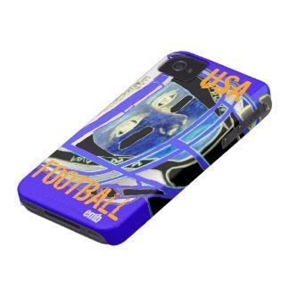 iPhone 4S del fútbol de 2012 niños y regalo de 4 iPhone 4 Case-Mate Cárcasa