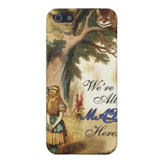 iPhone 5 Carcasa Alicia en el país de las maravillas
