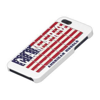 iPhone 5 Carcasa Bandera patriótica del coche del músculo de Chevy