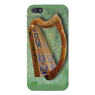 iPhone 5 Carcasa Celtic Harp Iphone Case