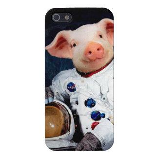 iPhone 5 Carcasa Cerdo del astronauta - astronauta del espacio