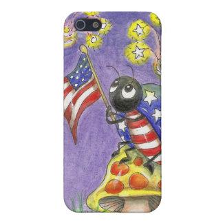 iPhone 5 Carcasa Cuarto que agita de la bandera del arte de la